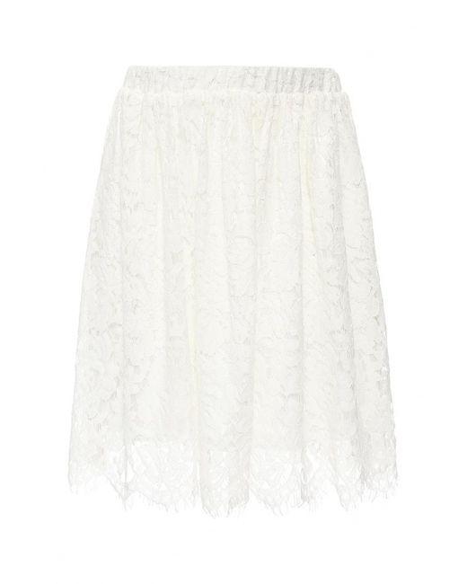 La Coquette | Женская Белая Юбка