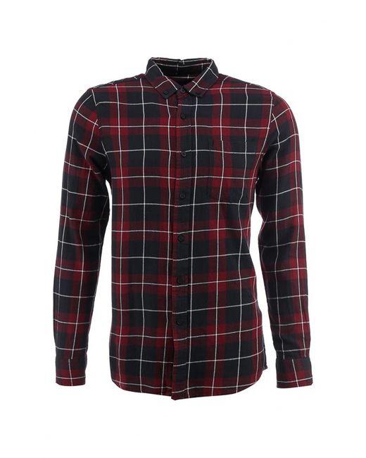 Topman   Мужская Красная Рубашка