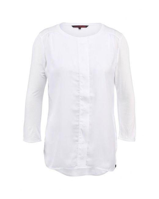 Tom Tailor Denim | Женская Белая Блуза