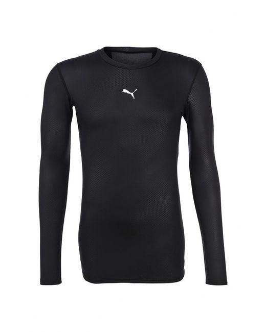 Puma | Мужской Чёрный Лонгслив Спортивный