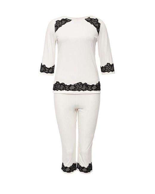 Passion | Женская Белая Пижама
