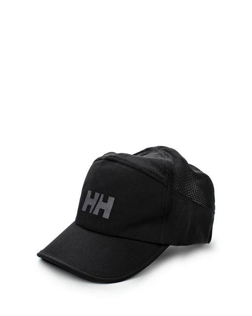 Helly Hansen | Мужская Чёрная Бейсболка