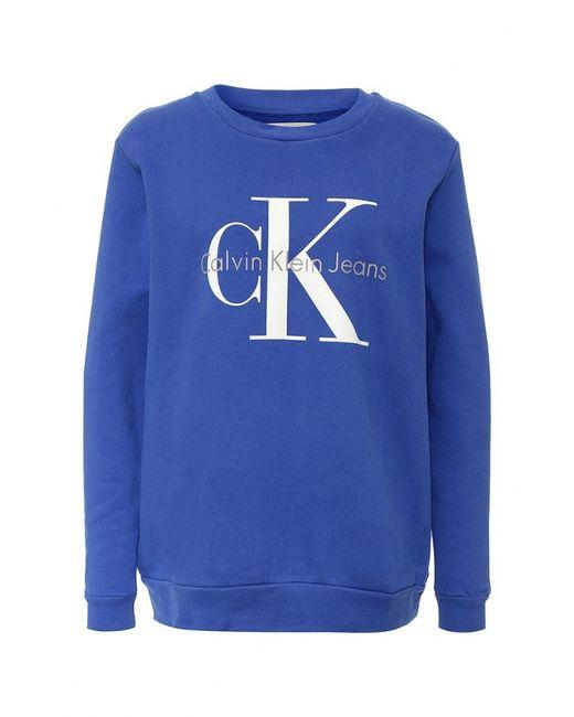 Calvin Klein Jeans   Женские Синие Худи