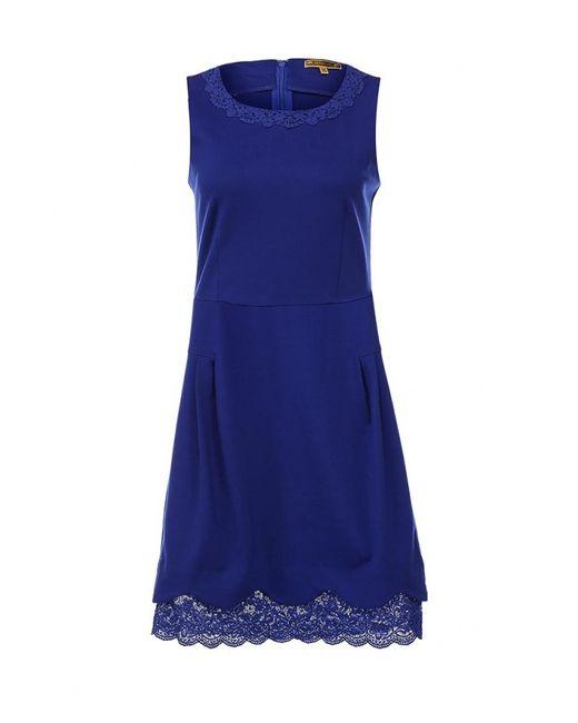 Kruebeck | Женское Синее Платье