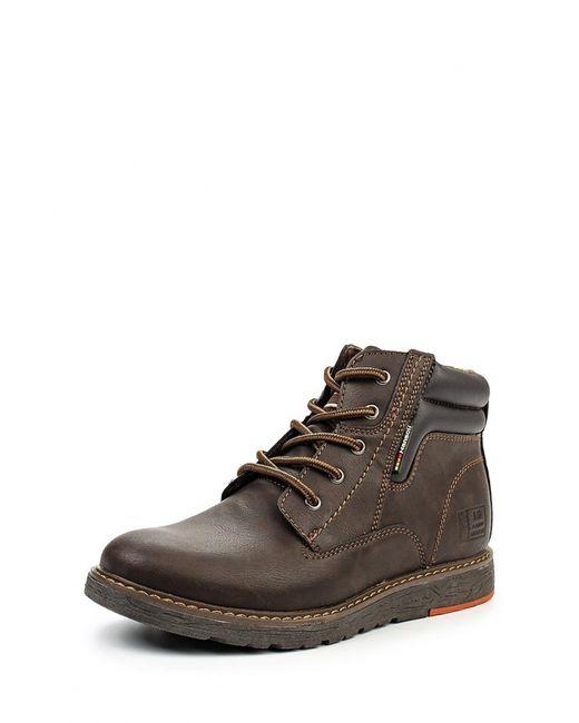 Hanson   Мужские Коричневые Ботинки