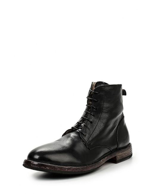 Moma | Мужские Чёрные Ботинки