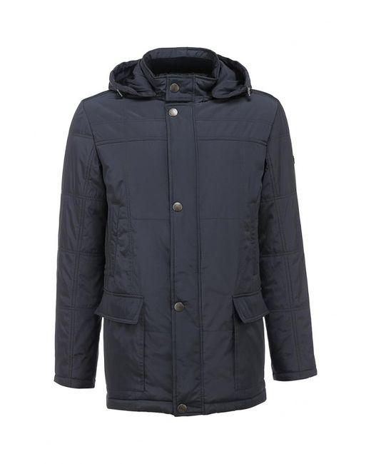 Forex | Мужская Синяя Куртка Утепленная
