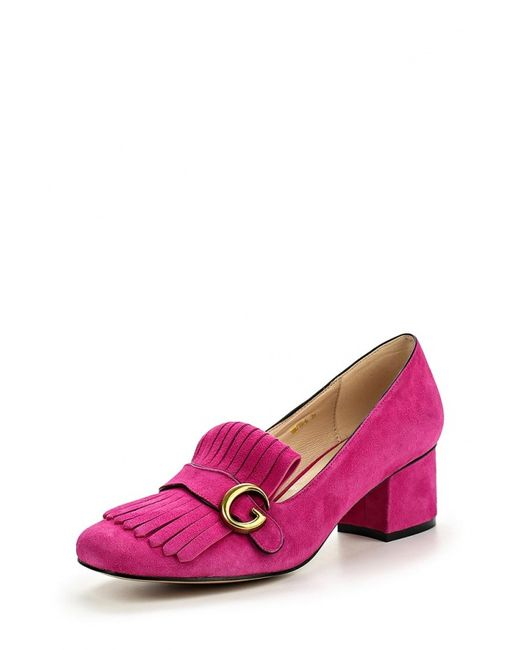 Grand Style | Женские Фуксии Туфли