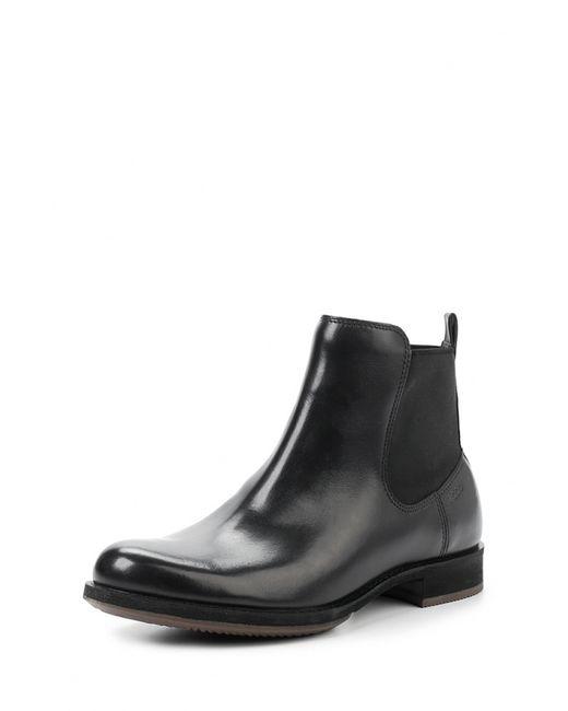 Ecco | Женские Чёрные Ботинки Saunter