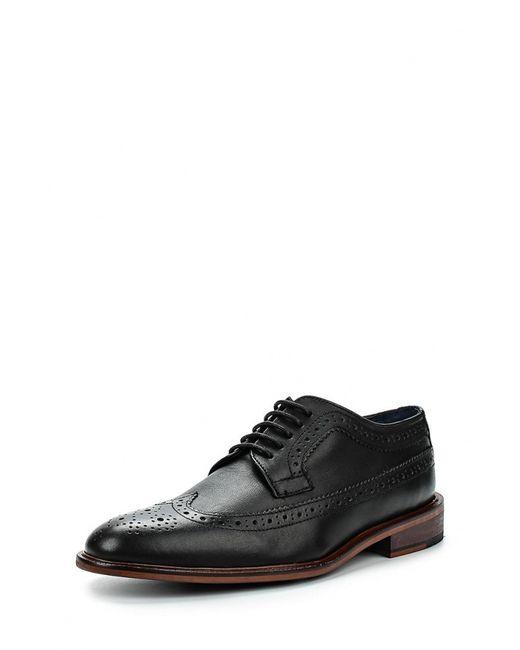 Topman | Мужские Чёрные Туфли