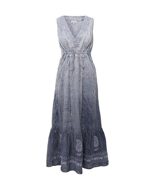 Indiano Natural   Женское Синее Платье