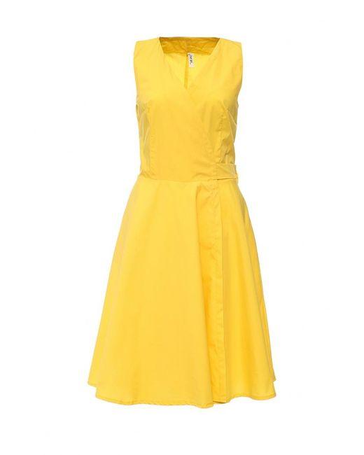 Be In | Женское Жёлтое Платье