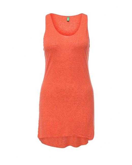 Benetton | Женский Оранжевый Топ