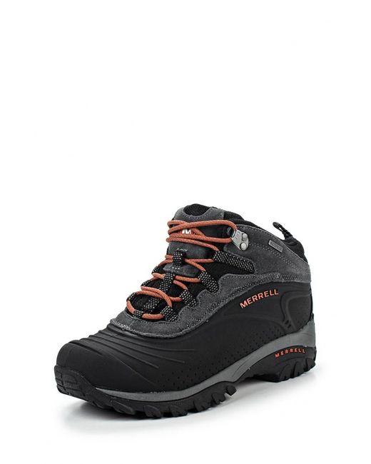 Merrell | Мужские Чёрные Ботинки Трекинговые