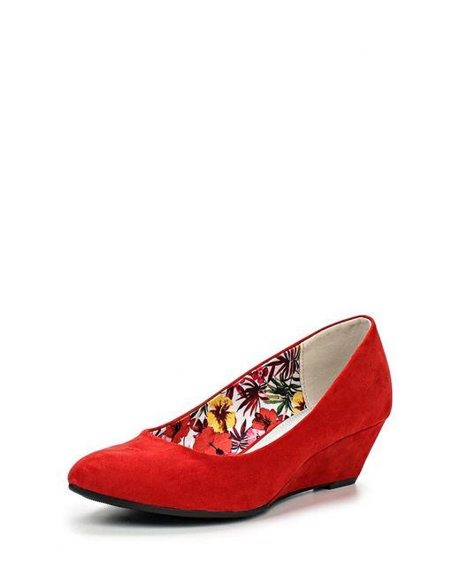 Marco Tozzi | Женские Красные Туфли