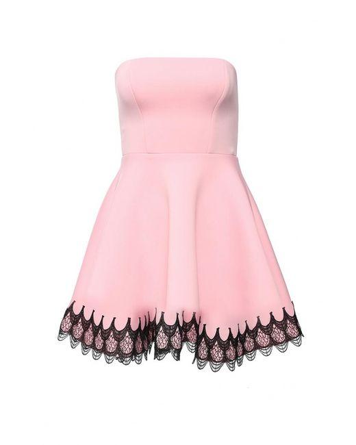 Goddiva | Женское Розовое Платье