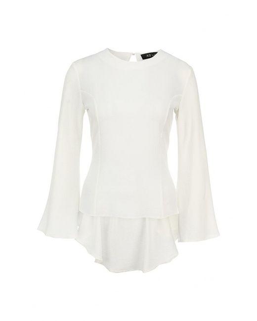 Ad Lib   Женская Белая Блуза