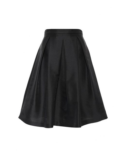 Sisley | Женская Чёрная Юбка