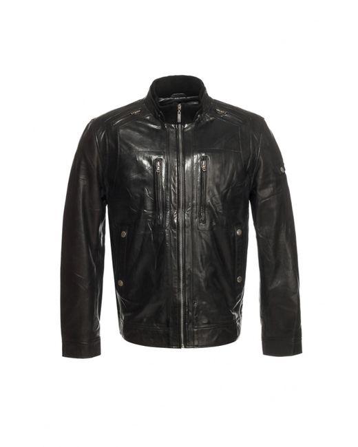 Московская Меховая Компания | Мужская Чёрная Куртка Московская Меховая Компания