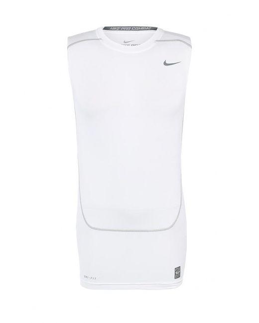 Nike   Мужская Белая Майка