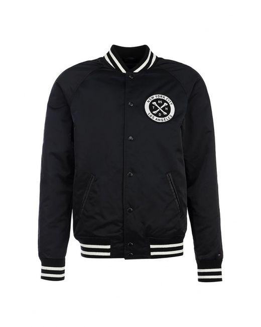 Tommy Hilfiger Denim | Мужская Чёрная Куртка Утепленная