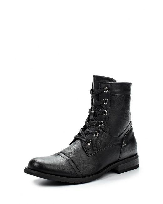G-L-X | Мужские Чёрные Ботинки