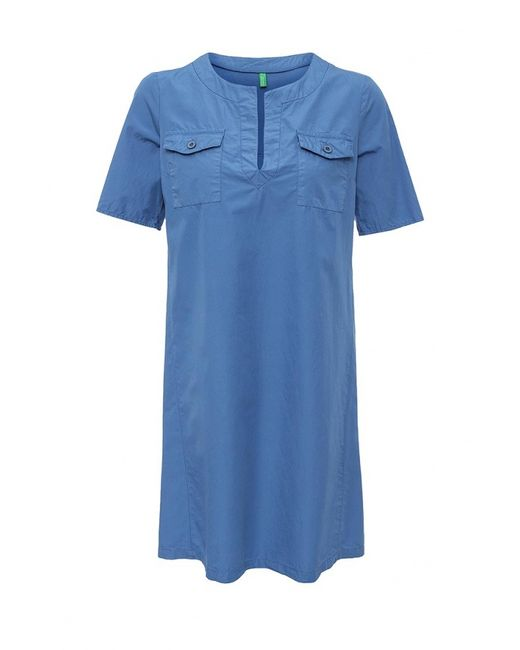 United Colors Of Benetton | Женское Синее Платье