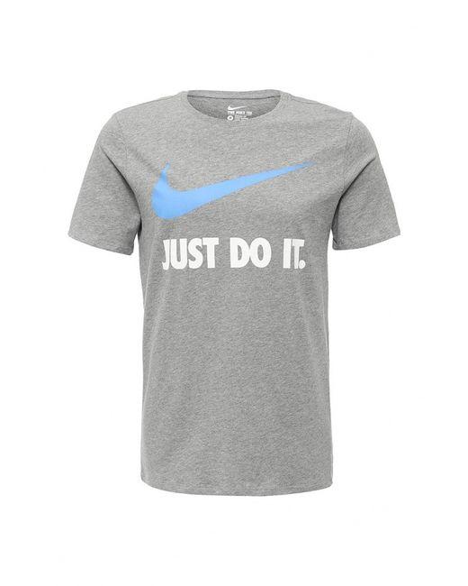 Nike | Мужская Серая Футболка