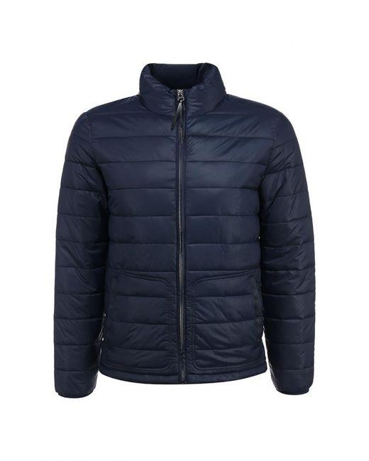 Cortefiel | Мужская Синяя Куртка Утепленная