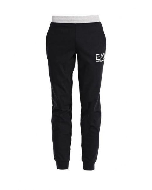 EA7 | Мужские Чёрные Брюки Спортивные