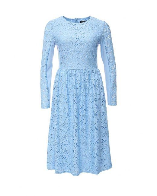 Concept Club   Женское Голубое Платье