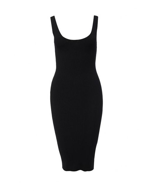 Liu •Jo | Женское Чёрное Платье Liu Jo