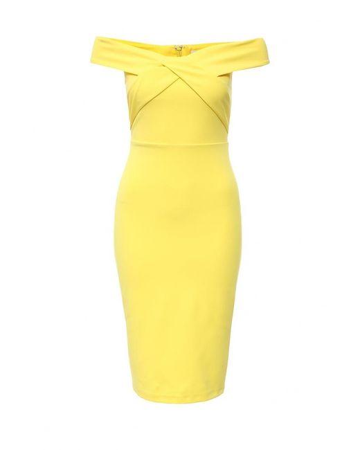 River Island   Женское Жёлтое Платье