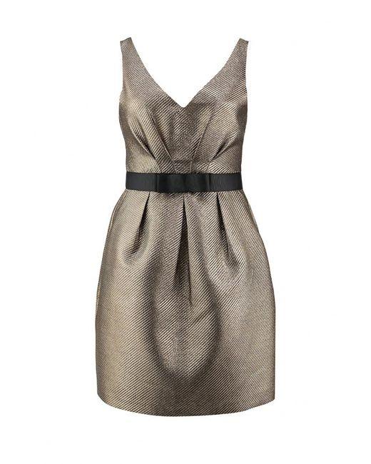 Warehouse   Женское Золотое Платье