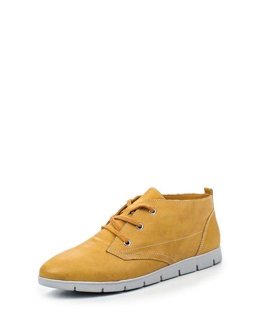 Caprice | Женские Жёлтые Ботинки