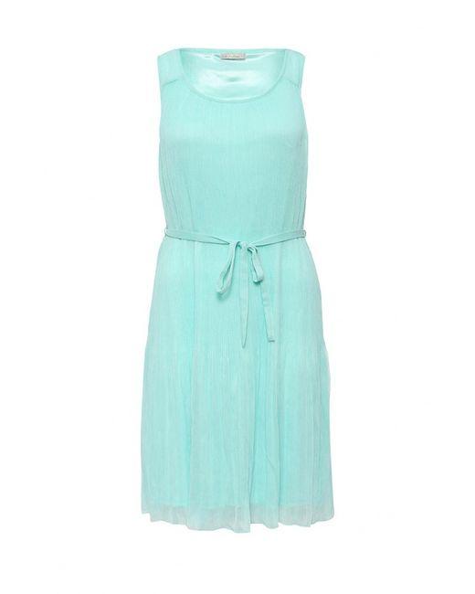 Sela | Женское Бирюзовое Платье
