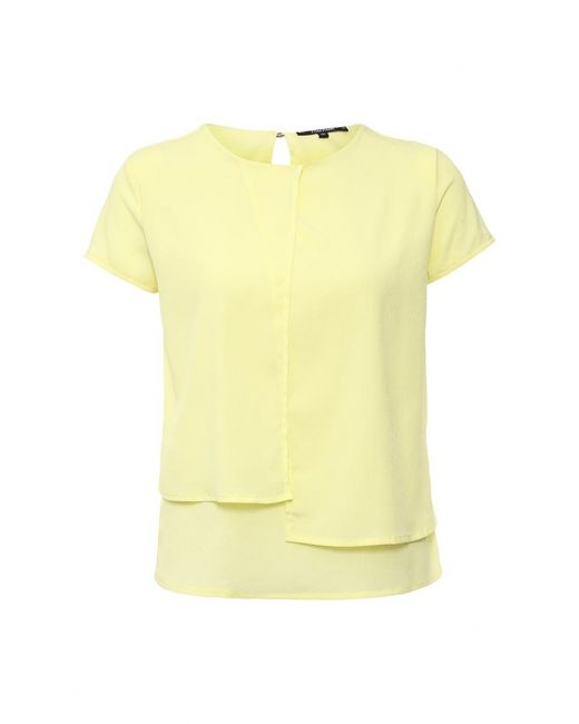 Tom Farr | Женская Жёлтая Блуза