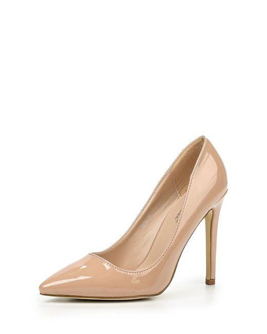 Super Mode | Женские Бежевые Туфли