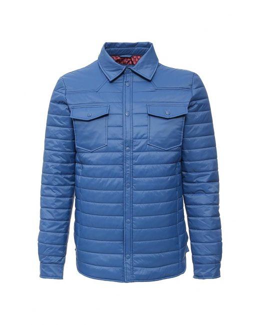 Sela   Мужская Синяя Куртка Утепленная