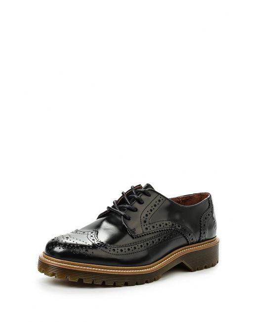 Bronx | Мужские Чёрные Туфли