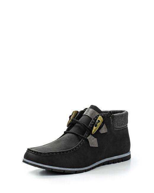 Elong | Мужские Чёрные Ботинки