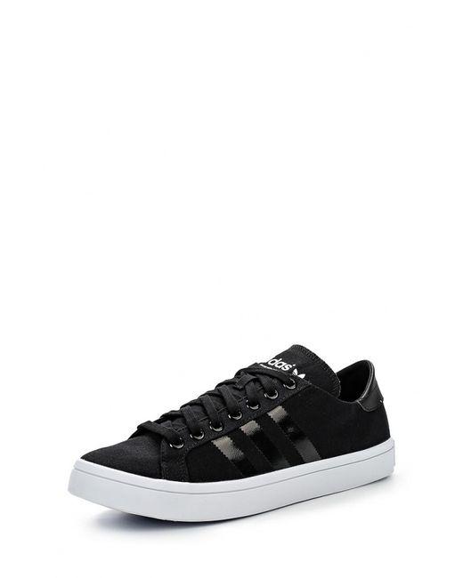 adidas Originals | Мужские Чёрные Кеды