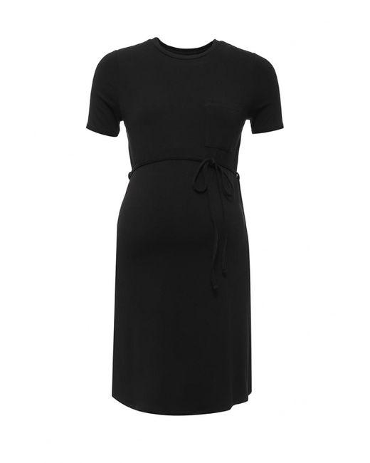Topshop | Женское Чёрное Платье
