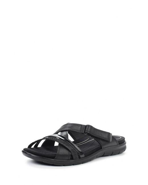 Ecco | Женское Чёрное Сабо Babett Sandal