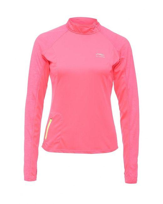 Li-Ning | Женский Розовый Лонгслив Спортивный