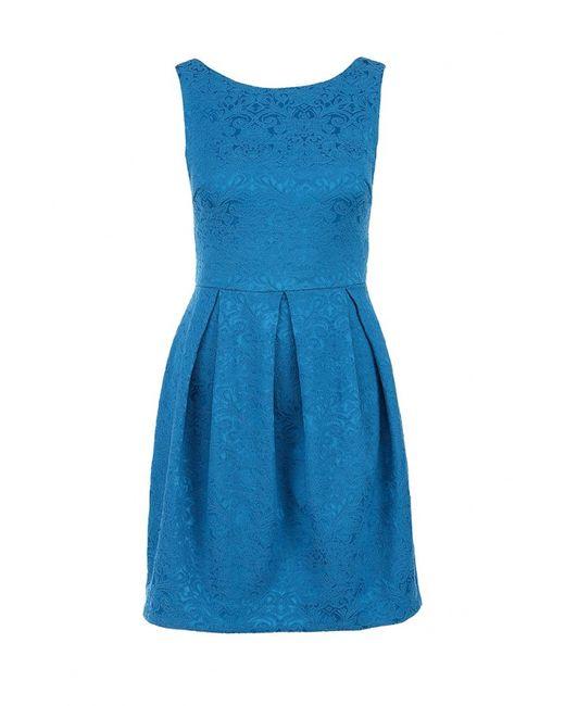 Incity | Женское Голубое Платье