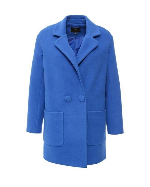 Grand Style | Женское Синее Пальто