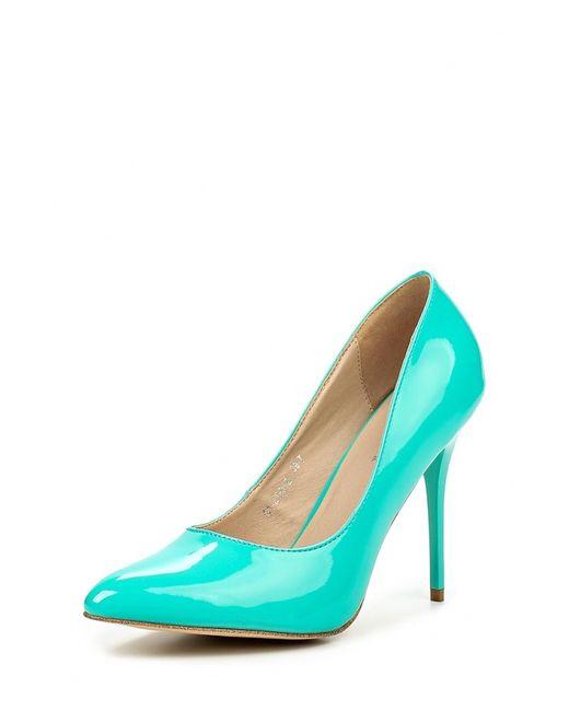 Wilmar | Женские Зелёные Туфли