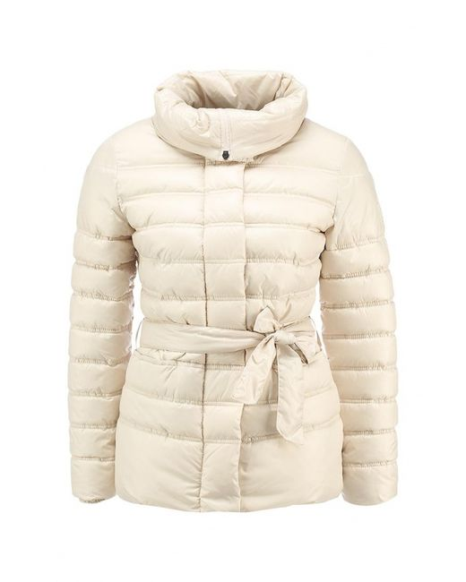 Grishko | Женская Бежевая Куртка Утепленная