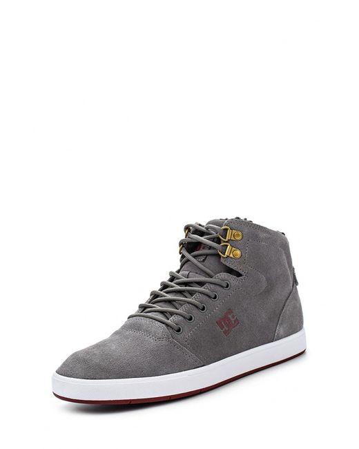 Dcshoes   Мужские Серые Кеды Dc Shoes